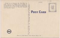 Writing and Address Card