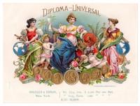 Diploma Universal Sales Book Page
