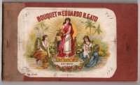 Bouquet de Eduardo H. Gato Proof Book Cover