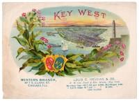 Key West Sales Book Page
