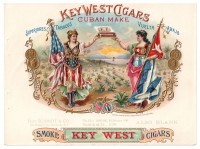 Key West Cigar Sales Book Page