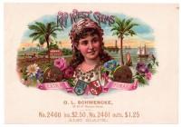 Key West Gems Sales Book Page