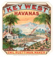 Key West Havanas Outer Box Art