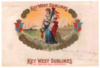 Key West Sublimes Inner Box Art