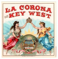 La Corona de Key West Outer Box Art
