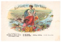 La Flor de Key West Sales Book Page