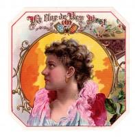 La Flor de Key West Outer Box Art (Schwencke)