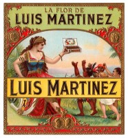 La Flor de Luis Martinez Outer Box Art 1