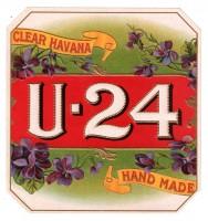 U - 24 Outer Box Art
