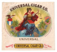 Universal Cigar Co Inner Box Art