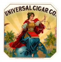 Universal Cigar Co Outer Box Art